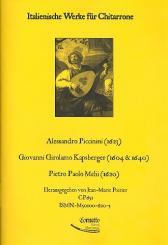 Italienische Werke für Chitarrone