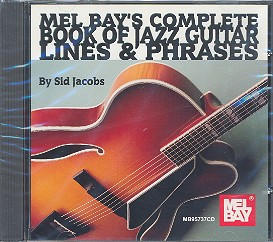 Jacobs, Sid: Complete Book of Jazz Guitar Lines and Phrases CD