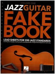 Jazz Guitar Fake Book vol.1 for guitar