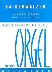 Kaiserwalzer für E-Orgel