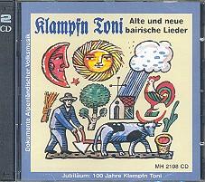KLAMPFN TONI 2 CDs ALTE UND NEUE BAIRISCHE LIEDER