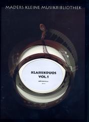 Klassikduos Band 1 für Flöte und Violoncello, Partitur und Stimmen