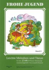 Knayer, Leopold Frohe Jugend Leichte Melodien und Tänze, Sammelband Zith1