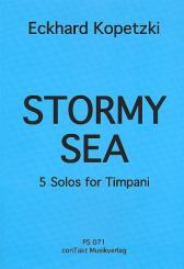 Kopetzki, Eckhard: Stormy Sea für Pauken