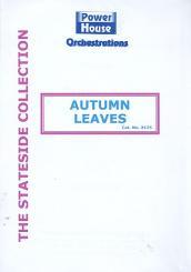 Kosma, Joseph: Autumn Leaves: für Gesang und Big Band, Partitur und Stimmen