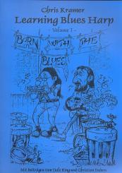 Kramer, Christian ('Chris'): Learning Blues Harp vol.1