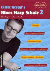 Kropp, Dieter: Blues Harp Schule Band 2 für Mundharmonika