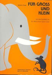 Krupp, Karlheinz: Für Groß und Klein für Akkordeon-Solo/-duo, mit 2. Stimme