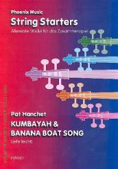 Kumbayah  und  Banana Boat Song für Streicher, Partitur und Stimmen