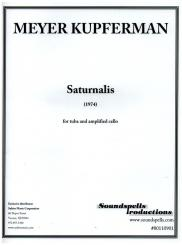 Kupferman, Meyer: Saturnalis for tuba and amplified cello, score