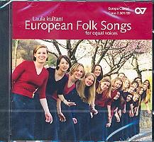 Laula kultani CD European Folk Songs for, equal voices