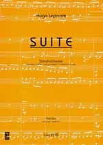 Lepnurm, Hugo: Suite für Streichorchester, Partitur