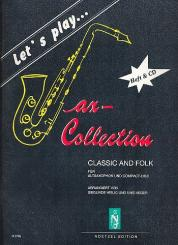 Let's play Classic and Folk (+CD) für Altsaxophon