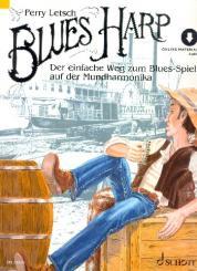 Letsch, Perry: Blues Harp (+Download) für Harfe