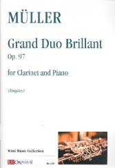Müller, Iwan: Grand Duo Brillant op.97 for clarinet and piano
