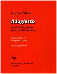 Mahler, Gustav: Adagietto aus der Dinfonie Nr.5 für Orgel