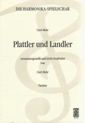 Mahr, Curt: Plattler und Landler für Akkordeonorchester, Partitur