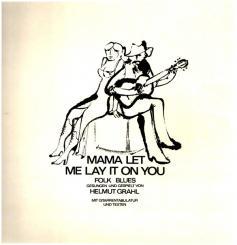 Mama let me lay it on You LP mit Tabulatur- und Text-Heft