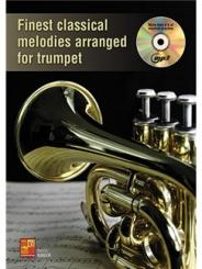 ME0275 Finest classical Melodies (+MP3-CD) for trumpet