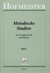Melodische Studien Band 1 für Trompete und Klavier