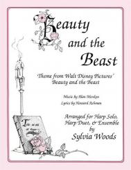 Menken, Alan: Beauty and the Beast (Main Theme) for 1-2 harps (voice and melody instrument ad lib), parts