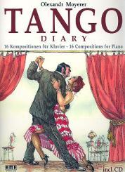 Moyerer, Olexandr: Tango Diary (+CD) 16 KOmpositionen für Klavier