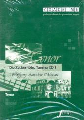 Mozart, Wolfgang Amadeus: Die Zauberflöte Rollen-CD Tamino, Lern- und Begleitfassung auf 2 CD's