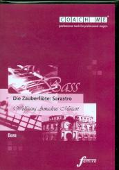 Mozart, Wolfgang Amadeus: Die Zauberflöte Rollen-CD Sarastro (Baß), Lern- und begleitfassung auf CD