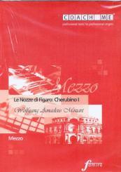 Mozart, Wolfgang Amadeus: Le nozze di Figaro Rollen-CD Cherubino (Mezzosopran), Lern- und Begleitfassung (2 CD's)