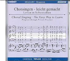 Mozart, Wolfgang Amadeus: Requiem KV626 CD Chorstimme Tenor und Chorstimmen ohne Tenor