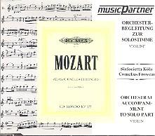 Mozart, Wolfgang Amadeus: Rondo KV373 Begleitung zur Solostimme