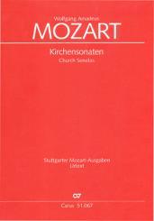 Mozart, Wolfgang Amadeus: Sämtliche Kirchensonaten für 2 Violinen und Bc, Partitur
