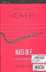 Neukomm, Sigismund Ritter von: Mass in F für 3 gleiche Stimmen und Orgel ohne pedal