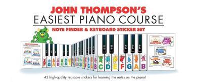 Note Finder & Keyboard Sticker Set Sticker-Set