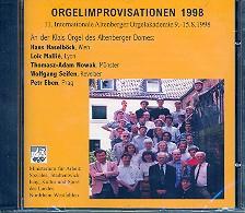 Orgelimprovisationen 1998 CD 11. intern. Altenberger Orgelakademie, 9.-15.8.1998