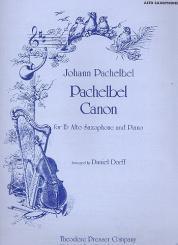 Pachelbel, Johann: Canon for alto saxophone and piano, Dorff, D., arr.