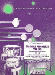 Paliev, Dobri: ENSEMBLE PERCUSSION TRIO NO.2 DANSE DIABOLIQUE FOR PERCUSSION, (3 PLAYERS), SCORE+PARTS