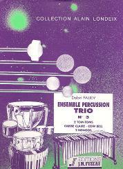 Paliev, Dobri: Ensemble percussion trio no.3 for percussion (3 players), score and parts