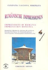 Perepelita, Cleopatra Valentina: Rumänische Impressionen: für Klarinette und Klavier