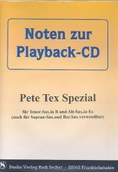 Pete Tex Spezial (+CD) für alle Es- und B-Instumente