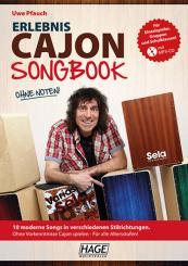 Pfauch, Uwe: Erlebnis Cajon - Songbook (+MP3-CD)