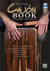 Philipzen, Matthias: Cajón Book (+CD+Online Videos) für Quereinsteiger, Fortgeschrittene und Pros