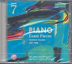 Piano Exam Pieces Grade 7 CD Complete Syllabus 2007-2008