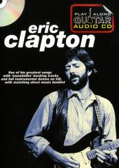 Play Along Guitar Audio CD - Eric Clapton CD with booklet