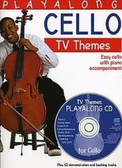 Playalong Cello (+CD) TV Themes for cello (easy) and piano