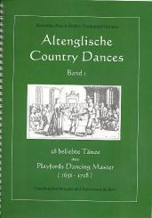 Playford, John: Altenglische Country Dances Band 1 (+CD) 28 beliebte Tänze aus Playford's, Dancing Master