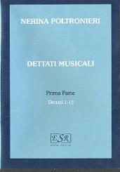 Poltronieri, Nerina: Dettati musicali vol.1 (nos.1-15) CD