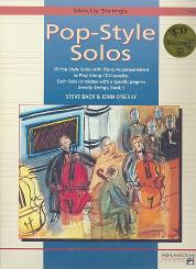 Pop-Style Solos (+CD) for cello (piano accompaniment available)