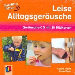 Preuss, Carola: Leise Alltagsgeräusche CD mit Bildkarten