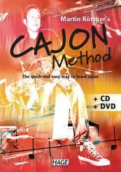 Röttger, Martin: Cajon Method (+CD + DVD) The quick and easy way to, leran cajon